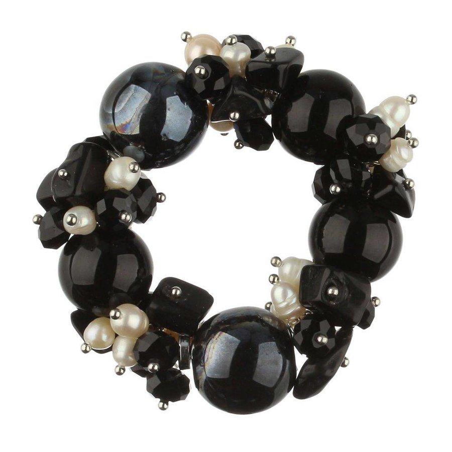 Damenarmband - schwarz