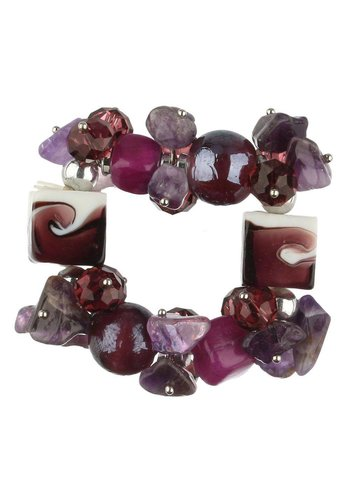 Neckermann Dames Armband - paars