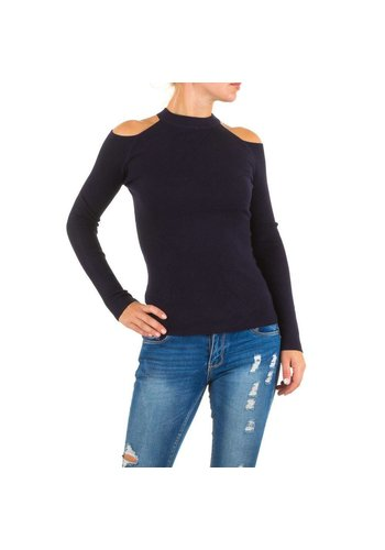MC LORENE Damen Pullover von Mc Lorene Gr. one size - DK.blue