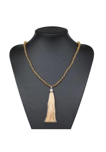 Neckermann Damen Halskette - gelb