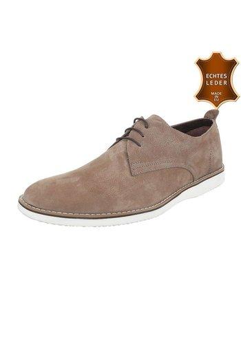COOLWALK Chaussures sport en cuir pour hommes par COOLWALK - sand