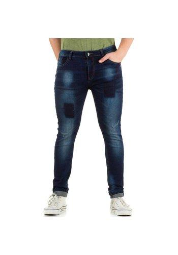 N&P79 Heren jeans van N & P79 - blauw