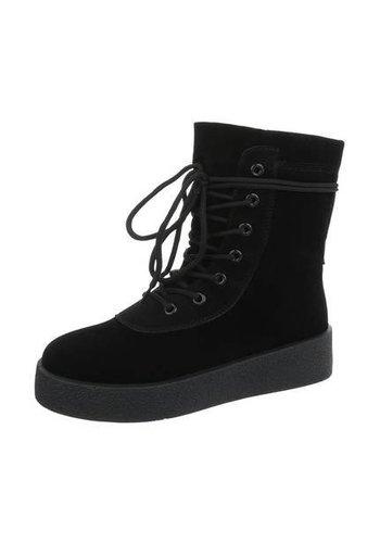 Neckermann Dames Hoge Sneakers - black