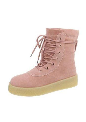 Neckermann Dames Hoge Sneakers - roze