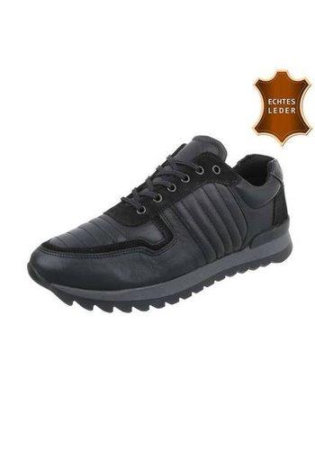 Neckermann Sneaker homme en cuir de COOLWALK noir