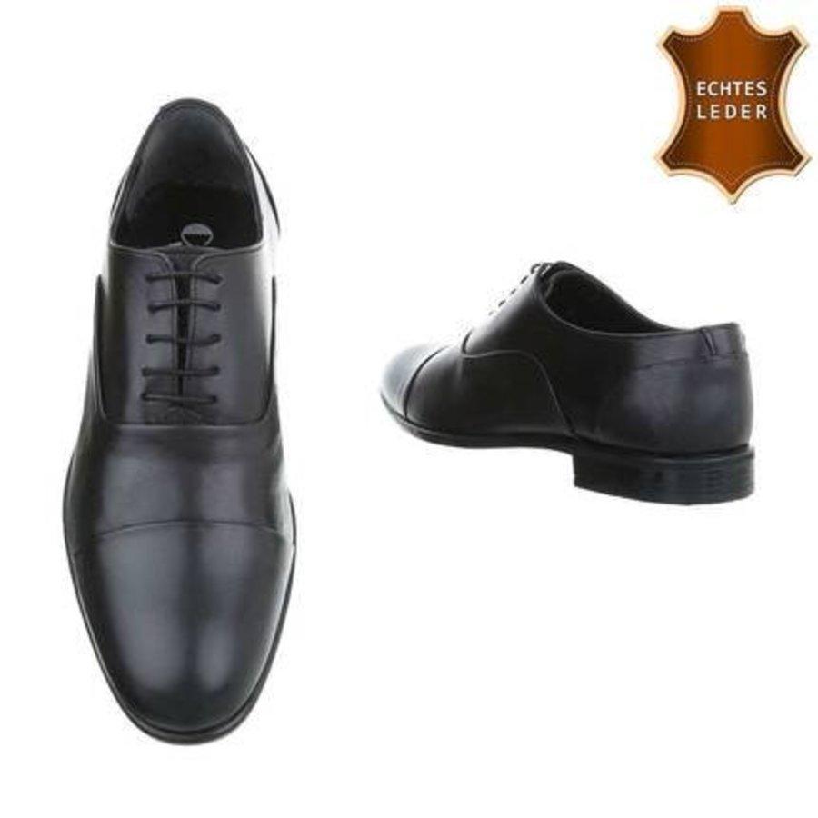 Leder Herren Businessschuhe von COOLWALK black