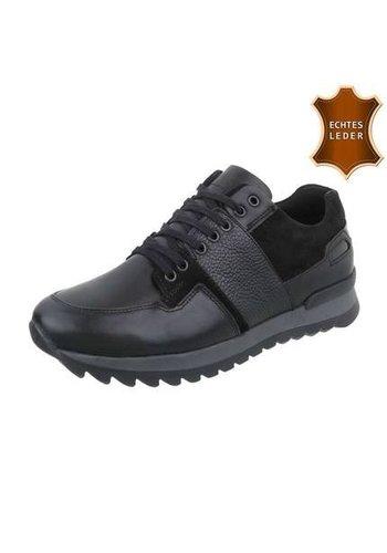 Neckermann Sneakers homme en cuir de COOLWALK noir
