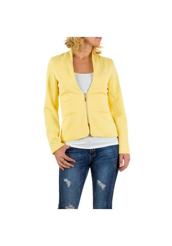 EMMA&ASHLEY DESIGN Dames Blazer van Emma&Ashley Design - Geel