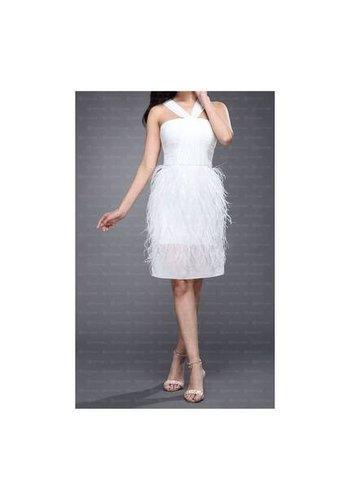 Damen Kleid von Festamo - white