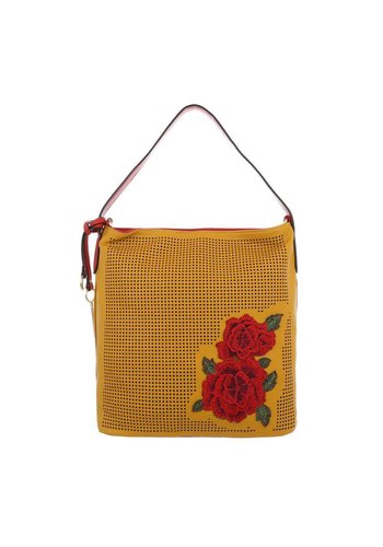 Neckermann Damen Schultertasche-yellow
