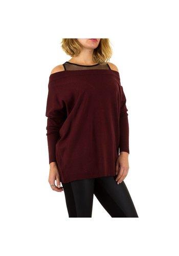 MOEWY Dames Sweater van Moewy Gr. één maat - wijn