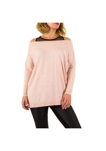 MOEWY Dames Sweater van Moewy Gr. één maat - roze