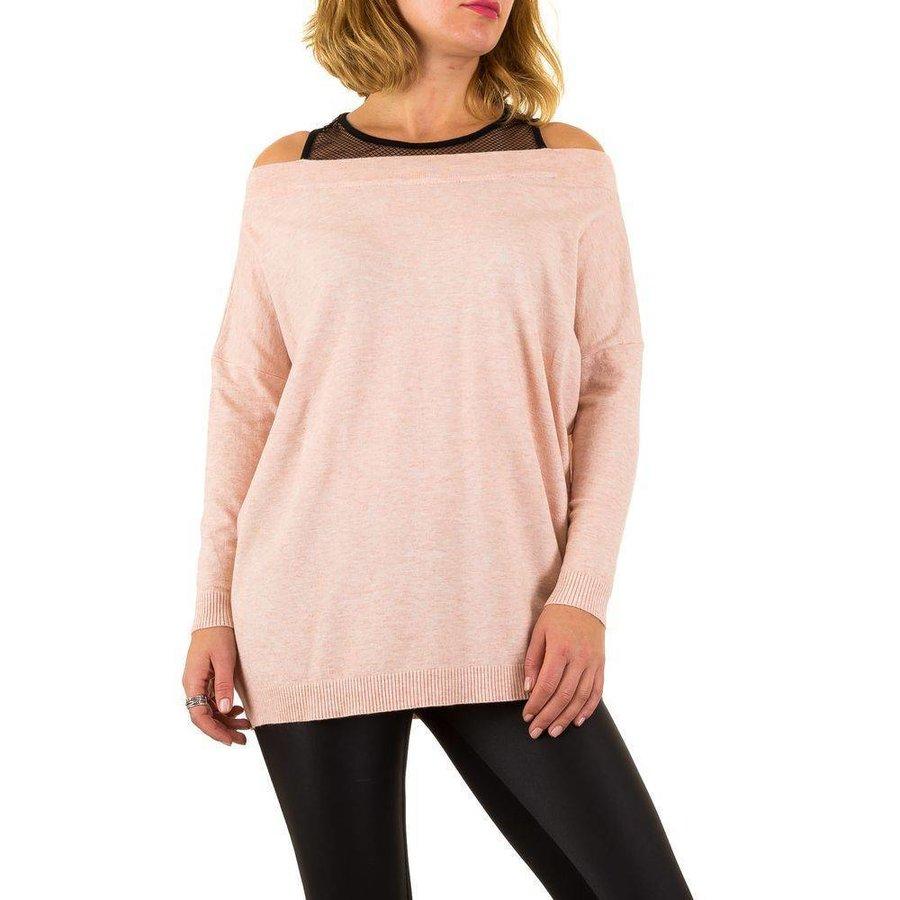 Damen Pullover von Moewy Gr. one size - rose