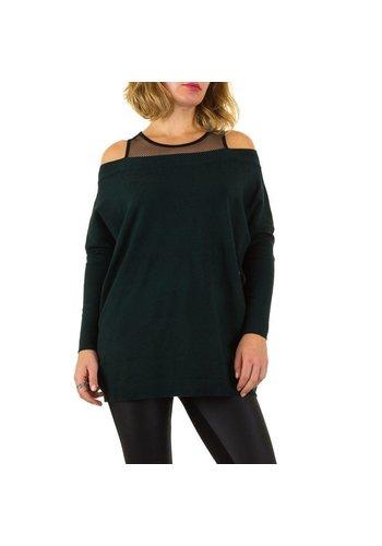 MOEWY Dames Sweater van Moewy Gr. één maat -groen