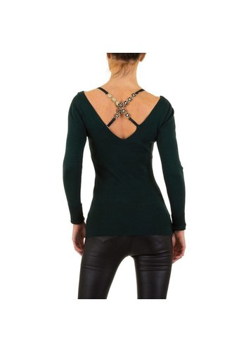 MOEWY Damen Pullover von Moewy Gr. one size - petrol