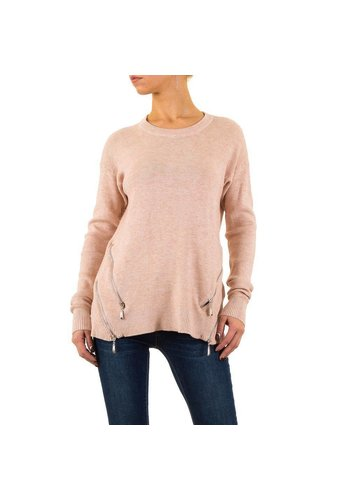 MOEWY Damen Pullover von Moewy Gr. one size - rose