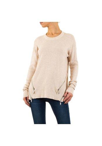 MOEWY Damen Pullover von Moewy Gr. one size - cream