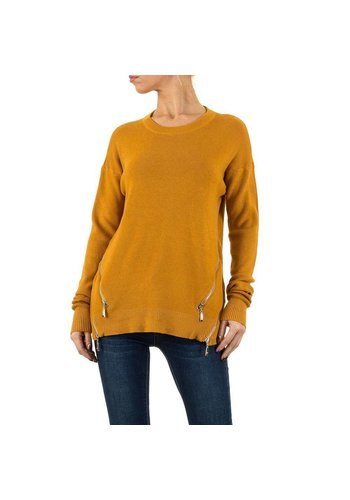 MOEWY Damen Pullover von Moewy Gr. one size - camel