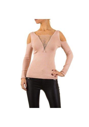 MOEWY Pull pour femme par Moewy Gr. taille unique - rose
