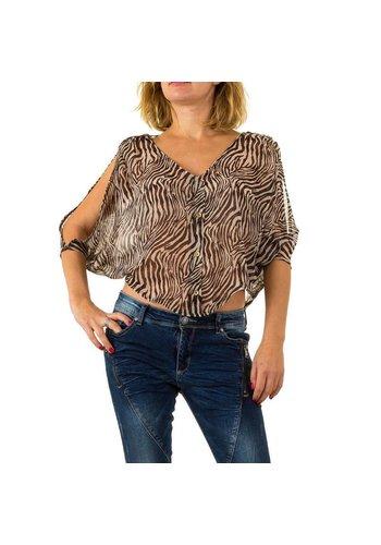 USCO Damen Bluse von Usco - brown