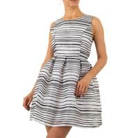 Damen Kleid von Marc Angelo - Schwarz Weiß
