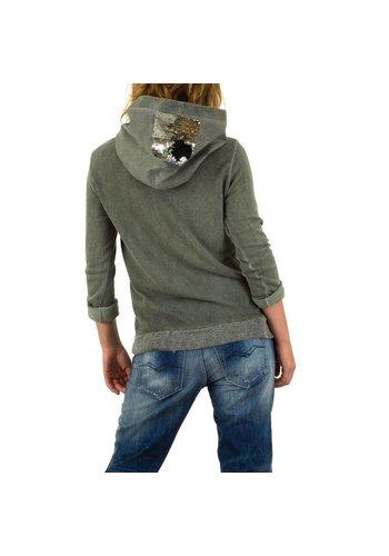 CARLA GIANNINI Damen Pullover von Carla Giannini Gr. one size - khaki