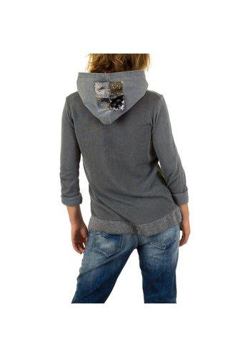 CARLA GIANNINI Damen Pullover von Carla Giannini Gr. one size - grey