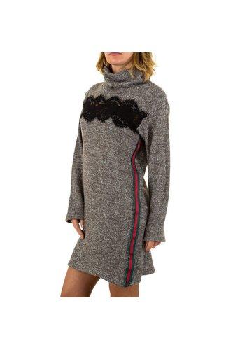 CARLA GIANNINI Damen Kleid von Carla Giannini Gr. one size - taupe