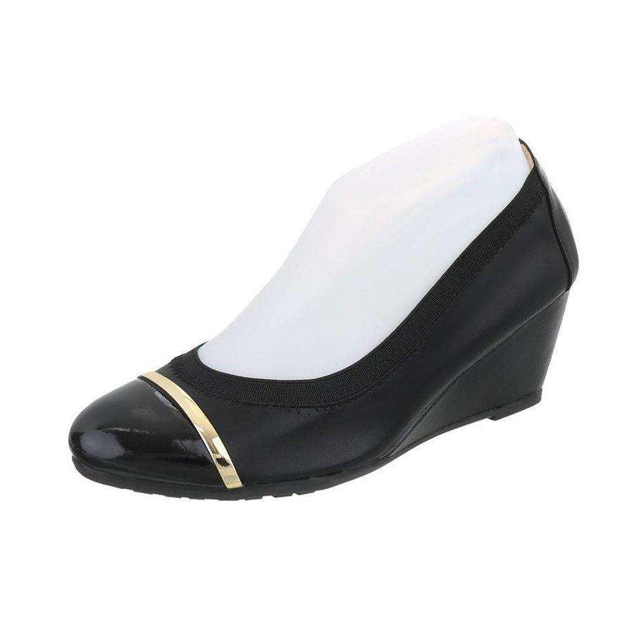 Damen Ballerinas - schwarz