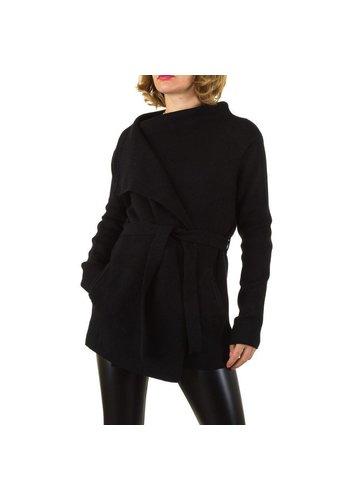 SHK PARIS Damen Strickjacke von Shk Paris Gr. one size - black