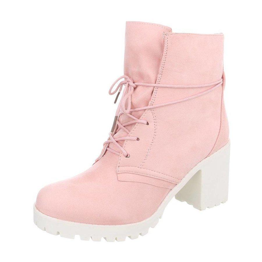 Damen Schn%FCrstiefeletten - pink