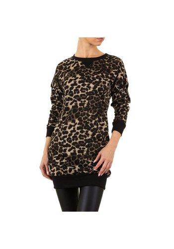EMMA&ASHLEY Damen Pullover von Emma&Ashley - leopard
