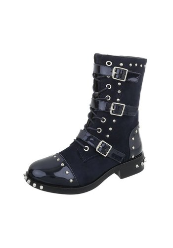 Neckermann Damen Stiefel - blau