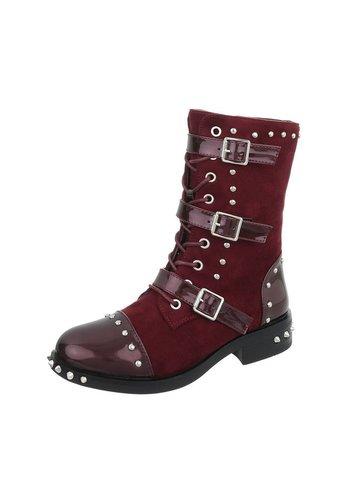 Neckermann Dames Boots - rood