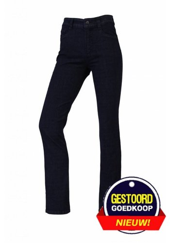 Neckermann Dames broek comfort  fit met stretch donker-blauw