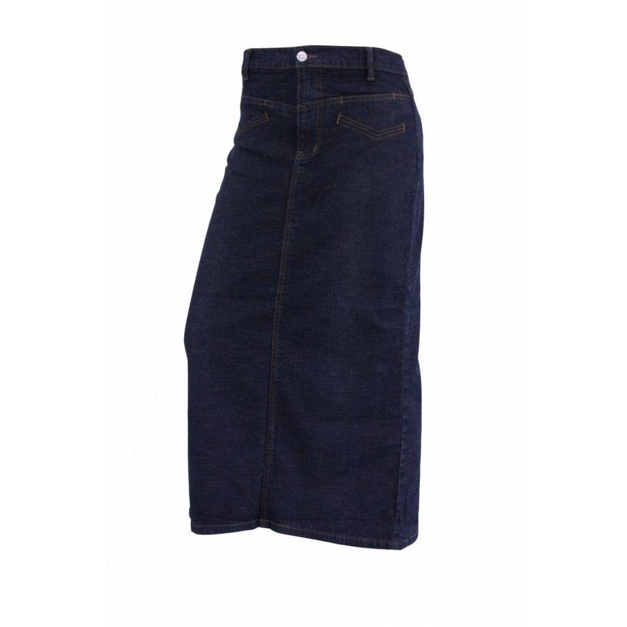 Dames spijkerrok donker-blauw