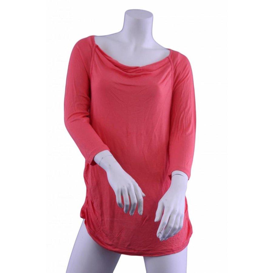 T-Shirt Rundhals Langarm