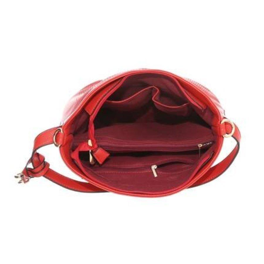 Damen Schultertasche-red