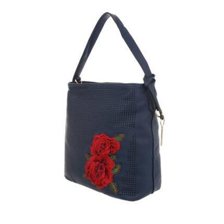 Damen Schultertasche-blue