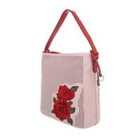 Damen Schultertasche-pink