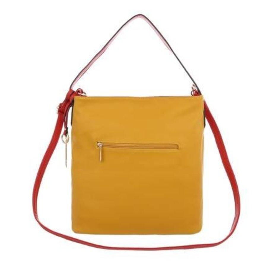 Damen Schultertasche-yellow
