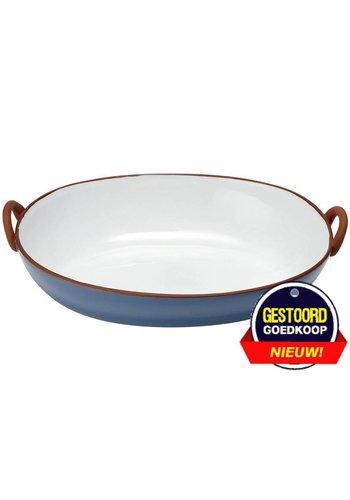 Ladelle Tapas terracotta ovenschaal 40x25.5x10.5 cm  blauw