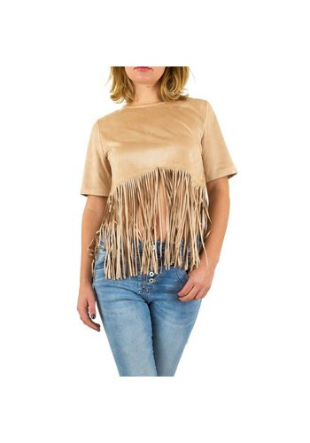 ANGEL PARIS Damen Bluse von Angel Paris - camel