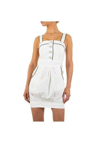 USCO Damen Kleid von Usco - white