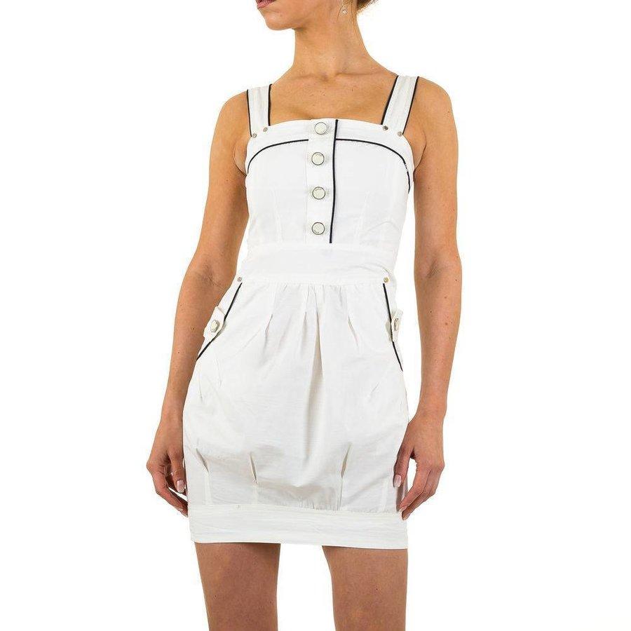 Damen Kleid von Usco - white