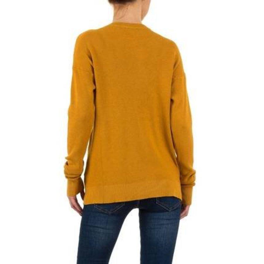 Damen Pullover von Moewy Gr. one size - camel