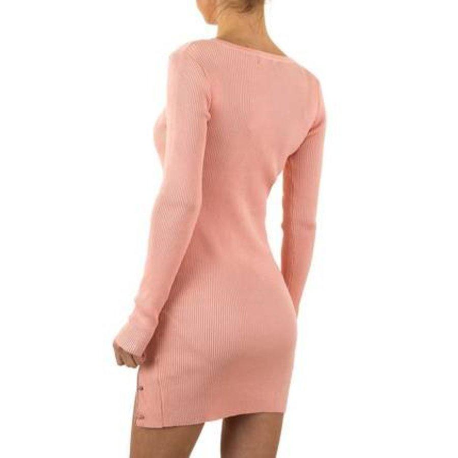 Damen Kleid von Emma&Ashley Gr. one size - rose