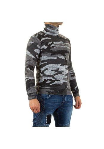 Neckermann Heren Sweater van Uniplay - armygrey