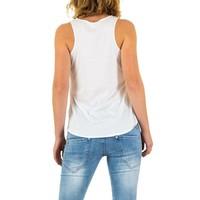 Damen Top Gr. one size - white