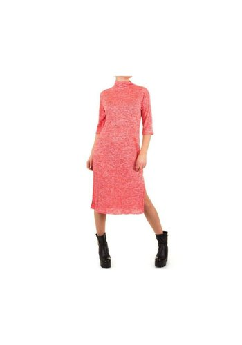 SHK MODE Dames Jurk van Shk Mode one size - rood